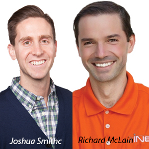 Richard McLain, CEO and Joshua Smith, CFO, INE